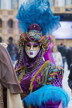 Venice Carnival 2014 ...very rich colors