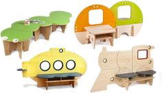 Greenplay Furniture for kids via Bellissima kids