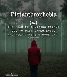 Pistanthrophobia(n.) the fear of trusting people due to past experiences and relationships gone bad. Unusual Words, Weird Words, Rare Words, Unique Words, New Words, Cool Words, Relationships Gone Bad, Ending A Relationship, Best Relationship Advice