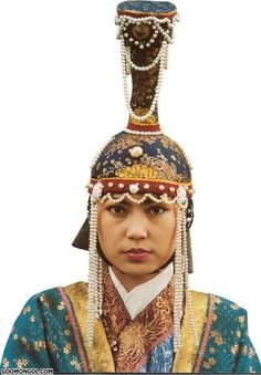 The tall hats worn by Medieval European princesses were not an original, but were inspired by the headgear of Mongolian queens http://www.smithsonianmag.com/smart-news/medieval-cone-shaped-princess-hats-were-inspired-by-mongol-warrior-women-180948217/