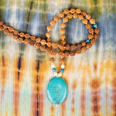Turquoise Ocean Mala - solice for the spirit and alignment of the chakras - yes please!