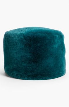 Nordstrom at Home 'Jolly' Faux Fur Pouf available at #Nordstrom