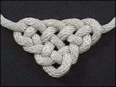 Waldorf ~ 4th grade ~ Norse Mythology ~ Form Drawing ~ Handwork ~ Triangle Knot