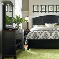 Cute bedroom. Love the frames! Guest bedroom idea??
