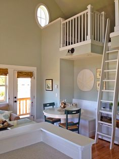 bunk loft stair idea House of Turquoise: Coastal Haven - Seabrook, WA