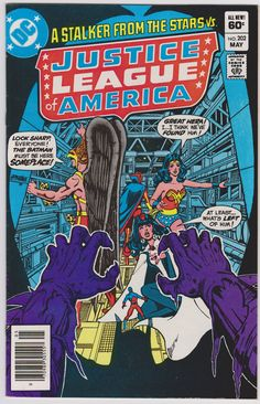 Justice League of America DC Comics #202 F+ 5.5