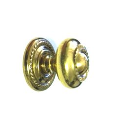 "Solid Brass Polished Cabinet Knob With Attractive Rope Design On Knob And Backplate, B-3113, DIAMETER: 1"" by FREEMANHARDWARE on Etsy https://www.etsy.com/listing/238724939/solid-brass-polished-cabinet-knob-with"