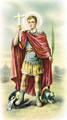 St Expedite's Feast Day is April 19th.