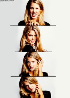Emily Bett Rickards is adorably gorgeous
