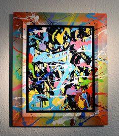 "Jonone @ Le Feuvre Gallery - Paris for ""Past-Present"" more pics on https://www.facebook.com/pages/Even-Fame/292707407473693"