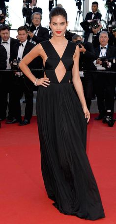 Sara Sampaio in Vionnet @ 2015 'Inside Out' Cannes Premiere