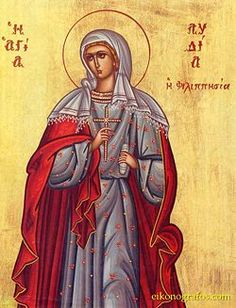 St. Lydia of Thyatira. In the Acts of the Apostles: Lydia was the Apostle Paul's 1st convert to Christianity in Europe. Her conversion from hearing Paul's words in Philippi proclaiming the Gospel of Christ at his 2nd mission journey. Paul & his companions were well received by Lydia & stayed at her house after their release from the Philippi prison. During their imprisonment, Lydia & co. spent nights in prayer for the release of Paul & Silas, making her home the first Christian Church in…