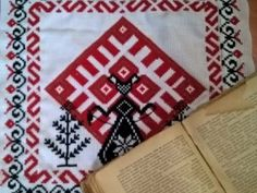 "4 схемы для вышивки ""Макошь, Джива, Лада, Рожаницы"" Folk Embroidery, Embroidery Fashion, Folk Fashion, Diy Fashion, Ethnic Patterns, Cross Stitch Patterns, Folk Art, Diy And Crafts, Rugs"