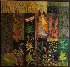 applique nature quilt - maker?