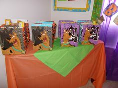 """Gift bags... Photo 1 of 39: Birthday Scooby Doo Mystery / Birthday """"Scooby Doo Haunted Mansion Party"""" 
