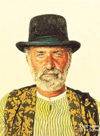 Norman Rockwell's Portrait of Keenan Wynn    for the movie Stagecoach