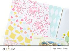 Create a colorful refreshing summer layout using Altenew's stamp sets and inks. Check our blog for more info. http://www.altenew.com