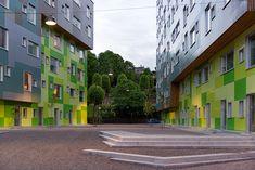 Galeria - Moradia Estudantil Grønneviksøren / 3RW Arkitekter - 3