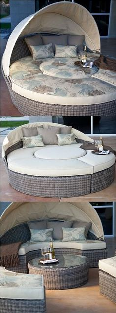 Escapade Sectional Daybed - great for laying out or entertaining!