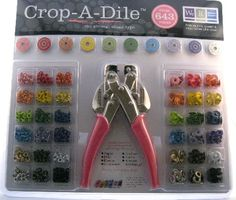 Crop-A-Dile Kit  eyelet and grommet punch tool