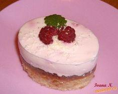 12 malinových zákusků a dortík k tomu: Krém: 2 vaničkové tvarohy, 400 g zakysané smetany, 250 ml... Cheesecake, Pudding, Food, Cheesecakes, Custard Pudding, Essen, Puddings, Meals, Yemek