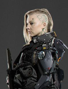 Cressida SciFi Fan Art - The Hunger Games Mockingjay