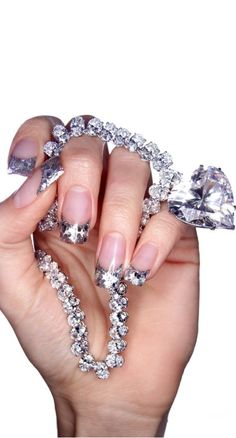 Dripping In Diamonds - Including A Diamond Manicure - Naturally ;) -ShazB