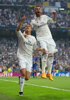 CR7 y SR4 - REAL MADRID