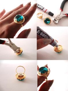 Diy ring - https://www.facebook.com/different.solutions.page