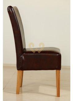 Krzesło dębowe 05 brąz