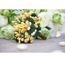 """Ягодные гроздья """"Yellow cloudberry"""""""