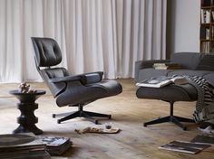 Eames lounge black