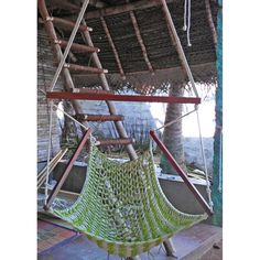 Green Color Cotton Swing. Get one today at http://goo.gl/IMx48t