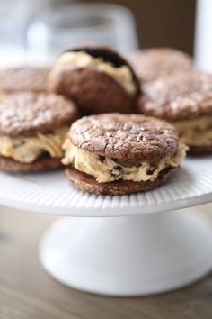 Chocolate Peanut Butter Sandwich Cookies are rich and decadent dessert! lemonsforlulu.com