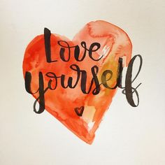 Quiérete a ti mismo ❤️ #letteritmay  #calligraphy #caligrafia #handlettering #handlettered #handlettering #typography #type #brushpen #watercolor #acuarela #pentelaquashbrush #winsorandnewton #loveyourself #quiereteatimismo