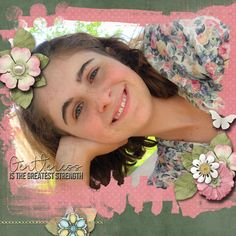 A picture of my daughter.  Kit used: Sherwood Studios' Gentleness available at http://www.thedigichick.com/shop/The-Faith-Project-Gentleness.html