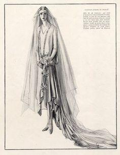 Jean Patou 1926  Porter Woodruff, Wedding Dress