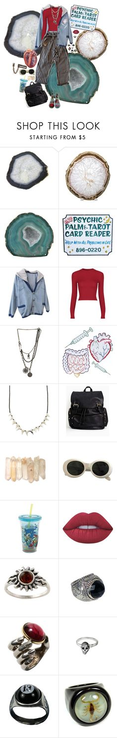 """""""Untitled #717"""" by dust-mite ❤ liked on Polyvore featuring Times Two Design, Dr. Martens, Retrò, Marquis & Camus, Dezso by Sara Beltrán, Acne Studios, Lime Crime, Amber Sun, Stephen Dweck and Delettrez"""