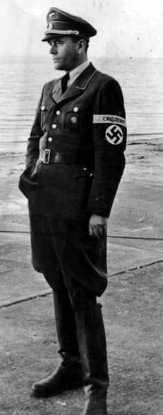 Albert Speer ...master Nazi architect, later imprisoned after the Nuremberg Trials, many objected to this sentence on the basis that Speer authorized the use of slave labor to build projects for the Third Reich, which led to the deaths of thousands.