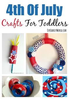4th july crafts family fun