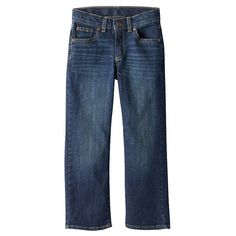 Boys 4-7x SONOMA Goods for Life™ Relaxed Bootcut Jeans, Boy's, Size: 4 Slim, Med Blue