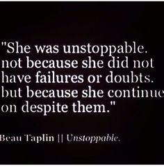Beau Talplin - unstoppable