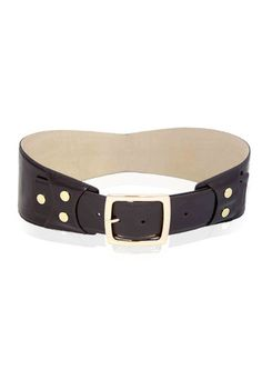 Fashionable choco waist belt