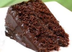 Brazilian Chocolate Cake by Vovó Celia Sweet Recipes, Cake Recipes, Dessert Recipes, Delicious Chocolate, Chocolate Recipes, Food Cakes, Cupcake Cakes, Chocolate Yogurt Cake, Bolo Chocolate
