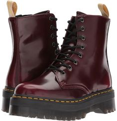 Dr. Martens - Vegan Jadon II 8-Eye Boot Women's Boots