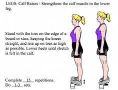 I read about some of these exercises on Pinterest and I don't know how to do them!