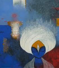 Vijayraj Bodhankar Indian Contemporary Art, Radha Krishna Wallpaper, Meditation, Sculptures, Canvas Art, Arts And Crafts, Doodles, Colours, Fine Art