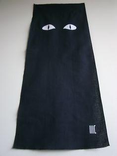 """nekome...cat's eye    tenugui  """"cu3"""""""