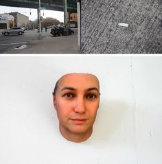 New York artist Heather Dewey-Hagborg collects DNA samples from discarded gum, fingernails and cigarette butts off the streets and uses a computer program to analyze the sample and create a model of what the person may look like. The program then sends the image to a 3D printer which constructs a sculpture of that person.Heather-Dewey-Hagborg-DNA-Portraits-45
