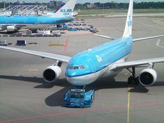 KLM Airbus A330-200 Passenger Aircraft, Airplane Travel, Utrecht, Airplanes, Dutch, Planes, Dutch Language, Aircraft, Plane